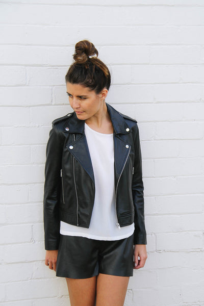 Bella Leather Jacket