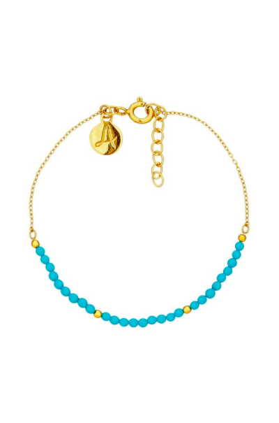Fine Collection Bracelet- Gold Bead Bracelet
