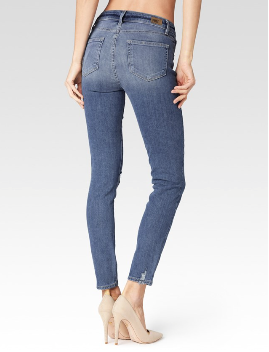 Verdugo Ultra Skinny Pryor Destructed- PAIGE