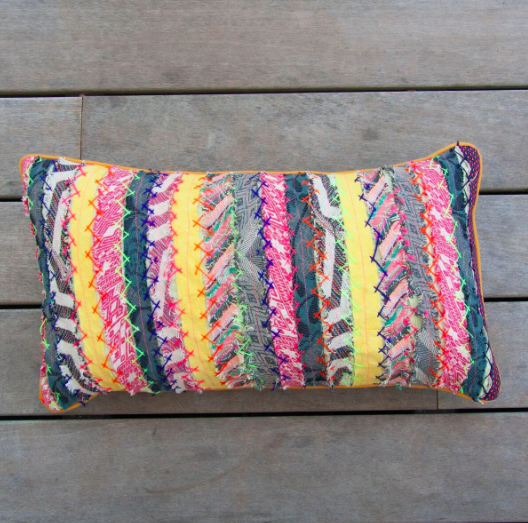 Retro Rectangle Multi Pillow