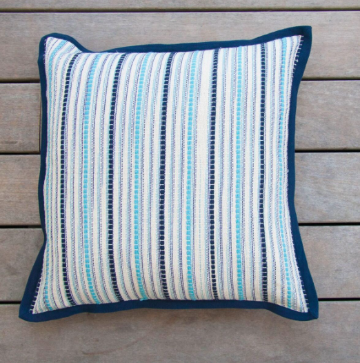 Tweed Blue Pillow