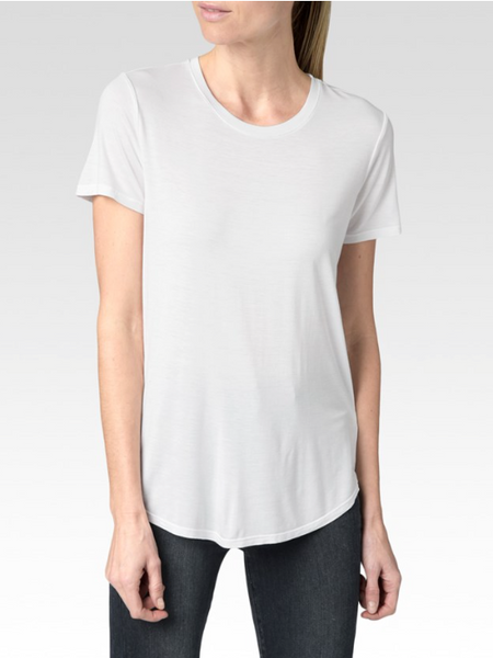 Bexley Tee Optic White - PAIGE