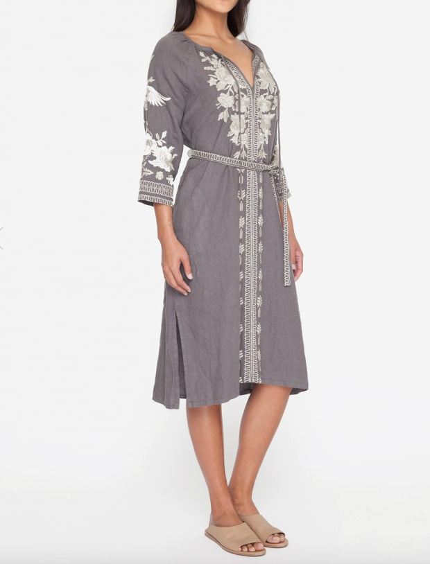 Carmelita Peasant Dress  - JOHNNY WAS