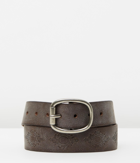 Loop Leather Belt- Eyes Wide Shut