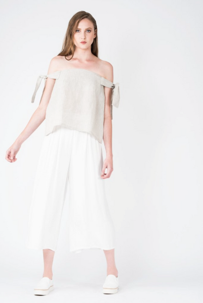 Flat Front Culottes - CHALICE