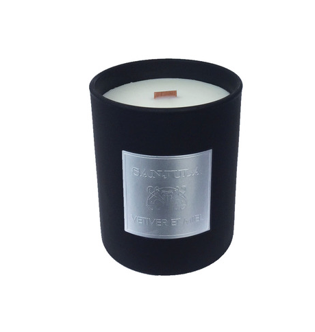 SANJULA- Wood Wick Candles- JAR