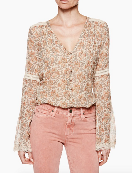 Cleo Blouse -PAIGE