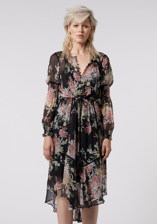 Gypsy Flora Dress - ONCE WAS
