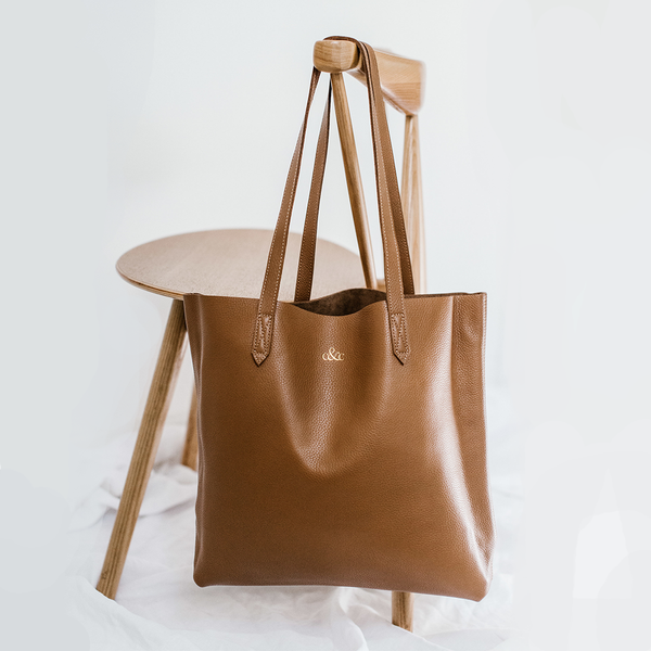 Leather Tote - Copper &  Cole