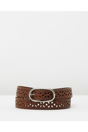 Flower Girl Belt - Loop Leather