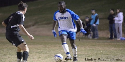 Albert Edward signs with Wilmington Hammerheads (USL) from AX Soccer Tours pro soccer combine in Las Vegas