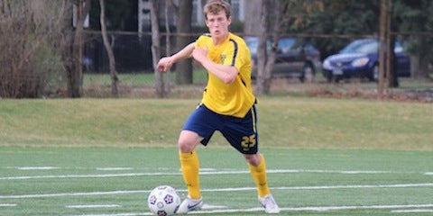 Michael Reed offered a contract from IK Brage (Sweden) from AX Soccer Tours european showcase to Ireland