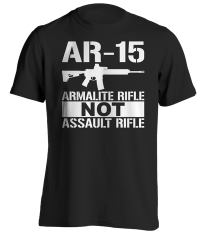 AR-15 Armalite Rifle T-Shirt