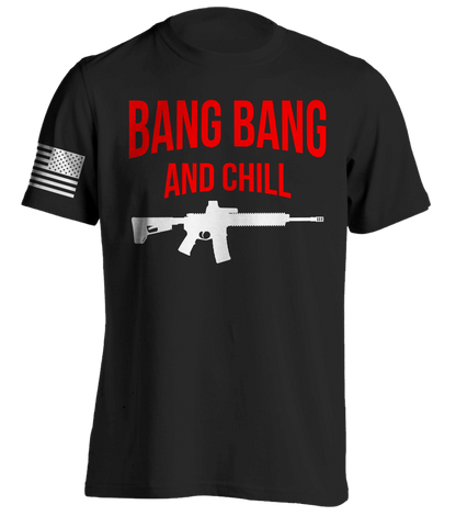 Bang Bang & Chill Black T-Shirt