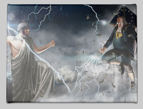 Benjamin Franklin vs Zeus
