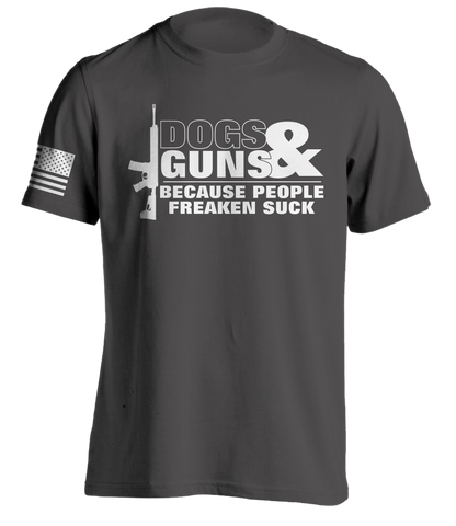 Dogs & Guns T-Shirt