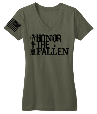 Honor The Fallen V-Neck