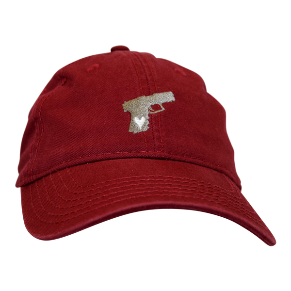 Pistol Dad Hat Scarlet