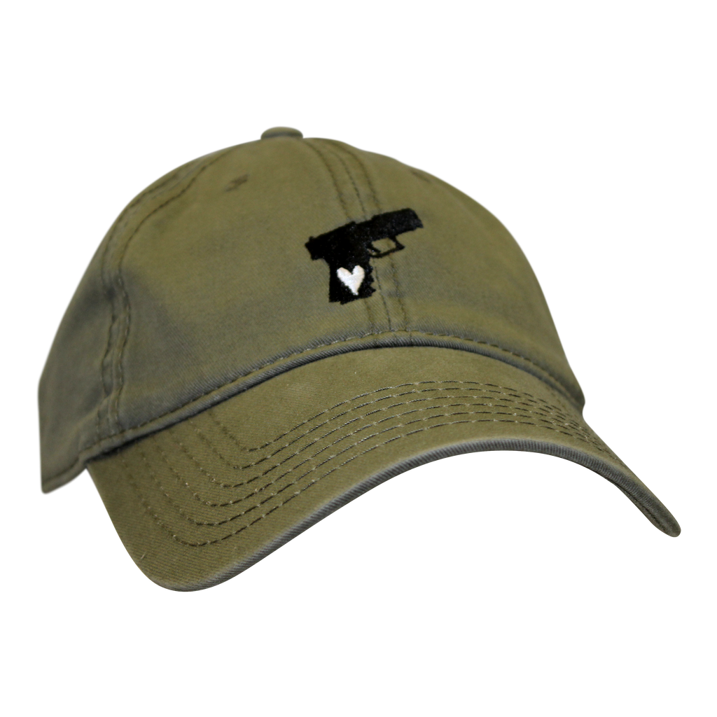 Pistol Dad Hat Military Green