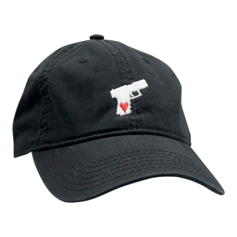 Pistol Dad Hat Black