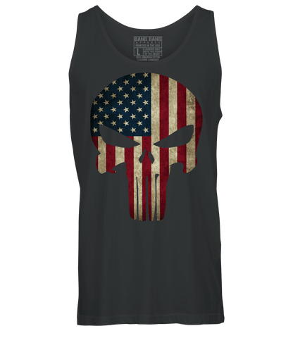 Punishment American Flag Tank Top