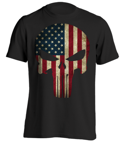 Punishment American Flag T-Shirt