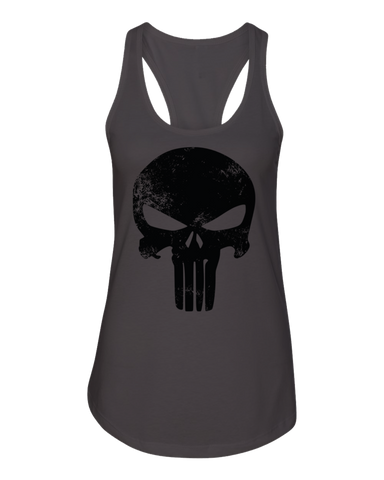 Punishment Racerback Charcoal