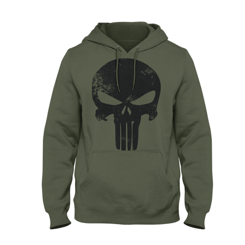 Punishment Hoodie Mil Green