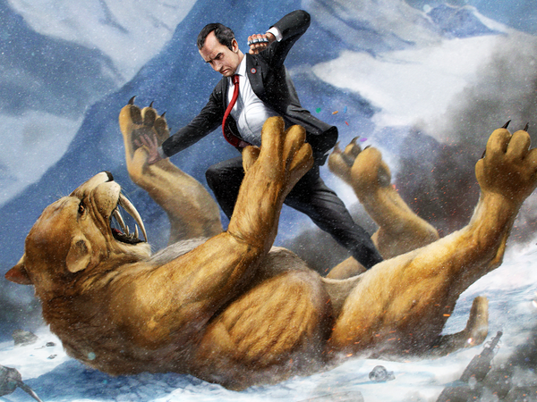 Richard Nixon vs Sabertooth