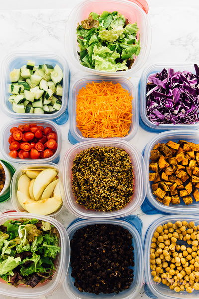 5 Easy Meal Prep Ideas, Sticking To My Healthy Plate