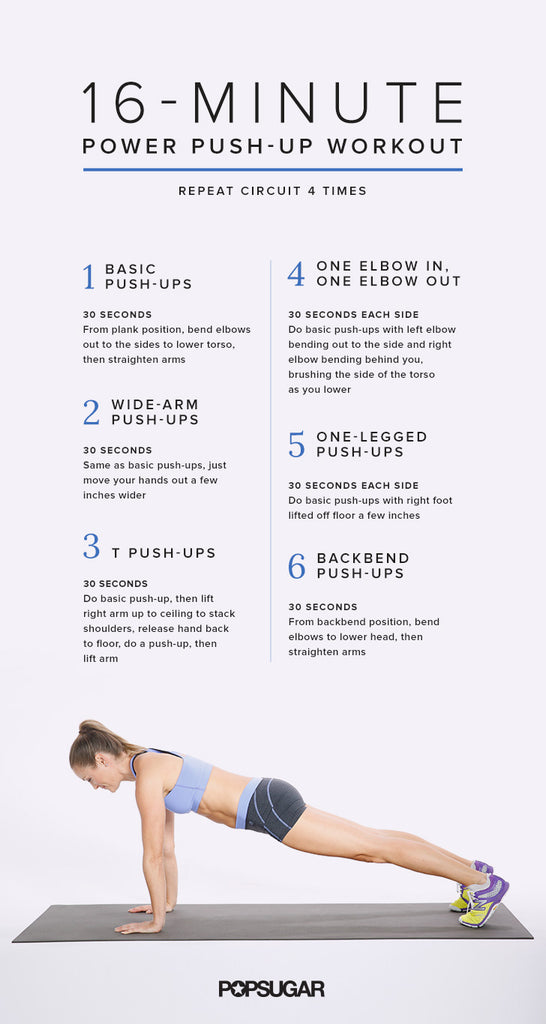 Quick Pushup core workout