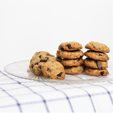 Made With Love: Veganized Chocolate Chip Cookies