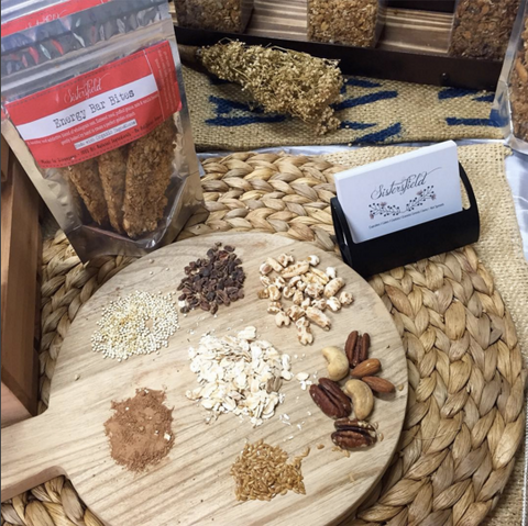 Healthy Baked Bar with Nuts
