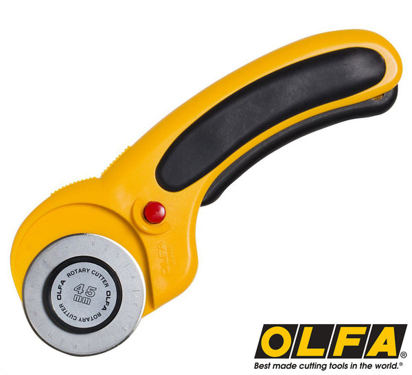 Olfa 174 45mm Deluxe Rotary Cutter Olfa Co Nz