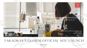 Takaokaya Global New Official Website Launch