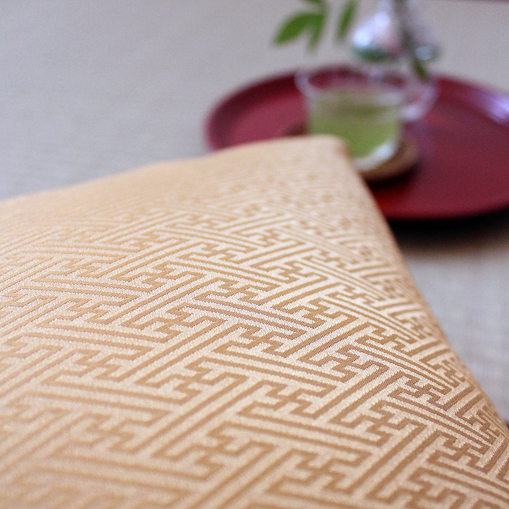 Kyoto Zabuton Cushion | Sayagata | Global Online Store Limited - Takaokaya