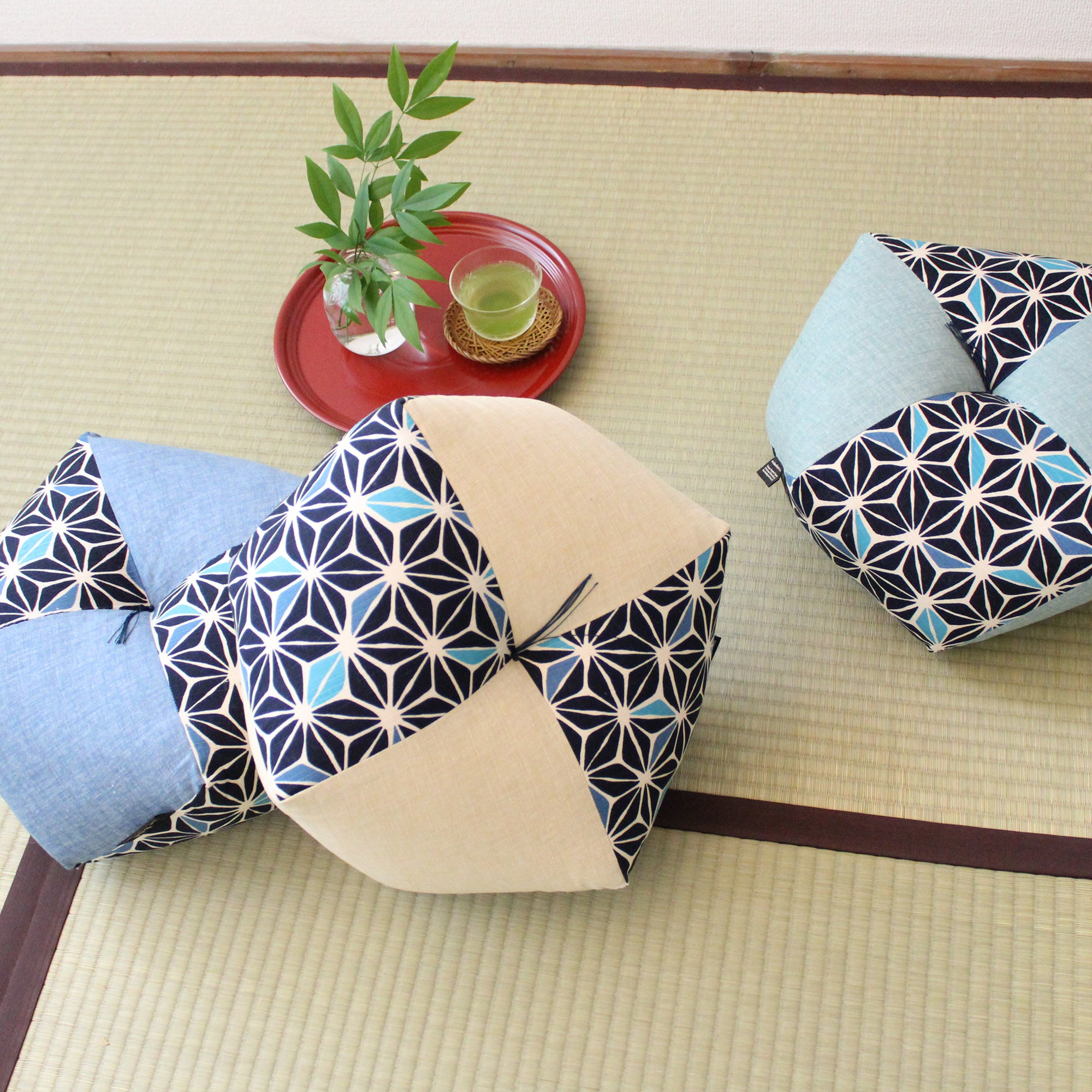 Ojami Cushion | Global Online Store Limited Asanoha Series - Takaokaya