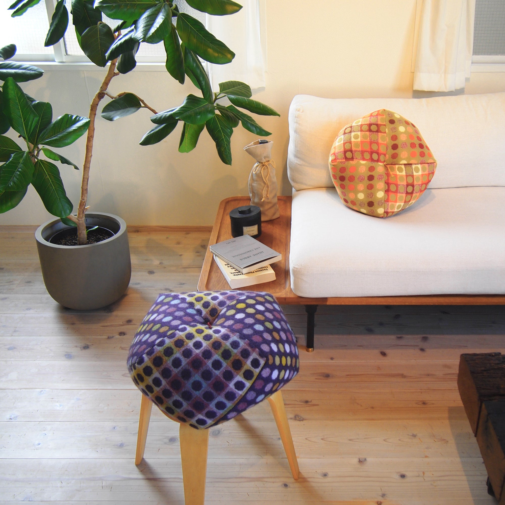 Ojami cushion | Melin Tregwynt from Wales in UK - Takaokaya