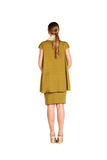 Double Face Cotton Knit Verse Top and Dress - Nate Hutson Collection