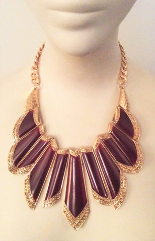 Bold Aztec Necklace - Nate Hutson Collection
