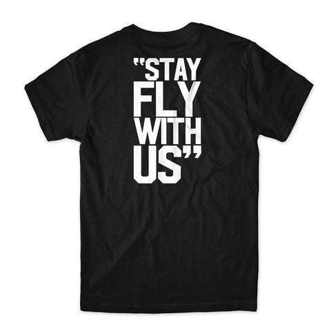 Outsiders Stay Fly W/Us - Men's Knit T-Shirt