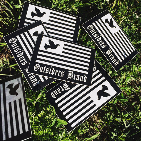 Outsiders OE Vinyl Sticker