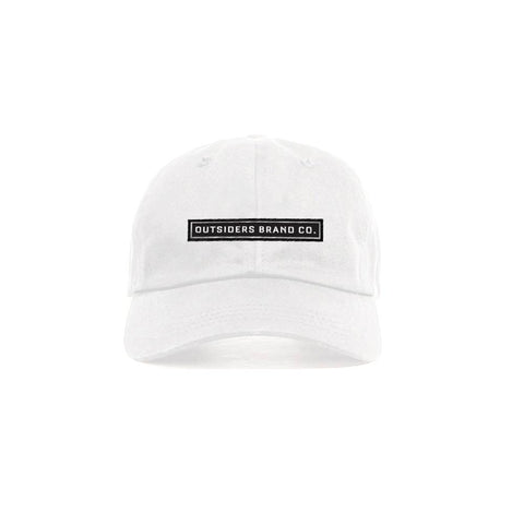 Outsiders 17 Logo - White - Classic Dad Strapback
