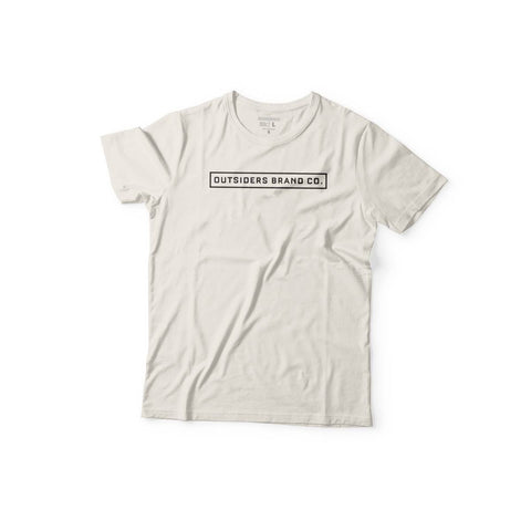 Outsiders Basic Logo'17 - OFF WHITE - Women's Knit T-Shirt
