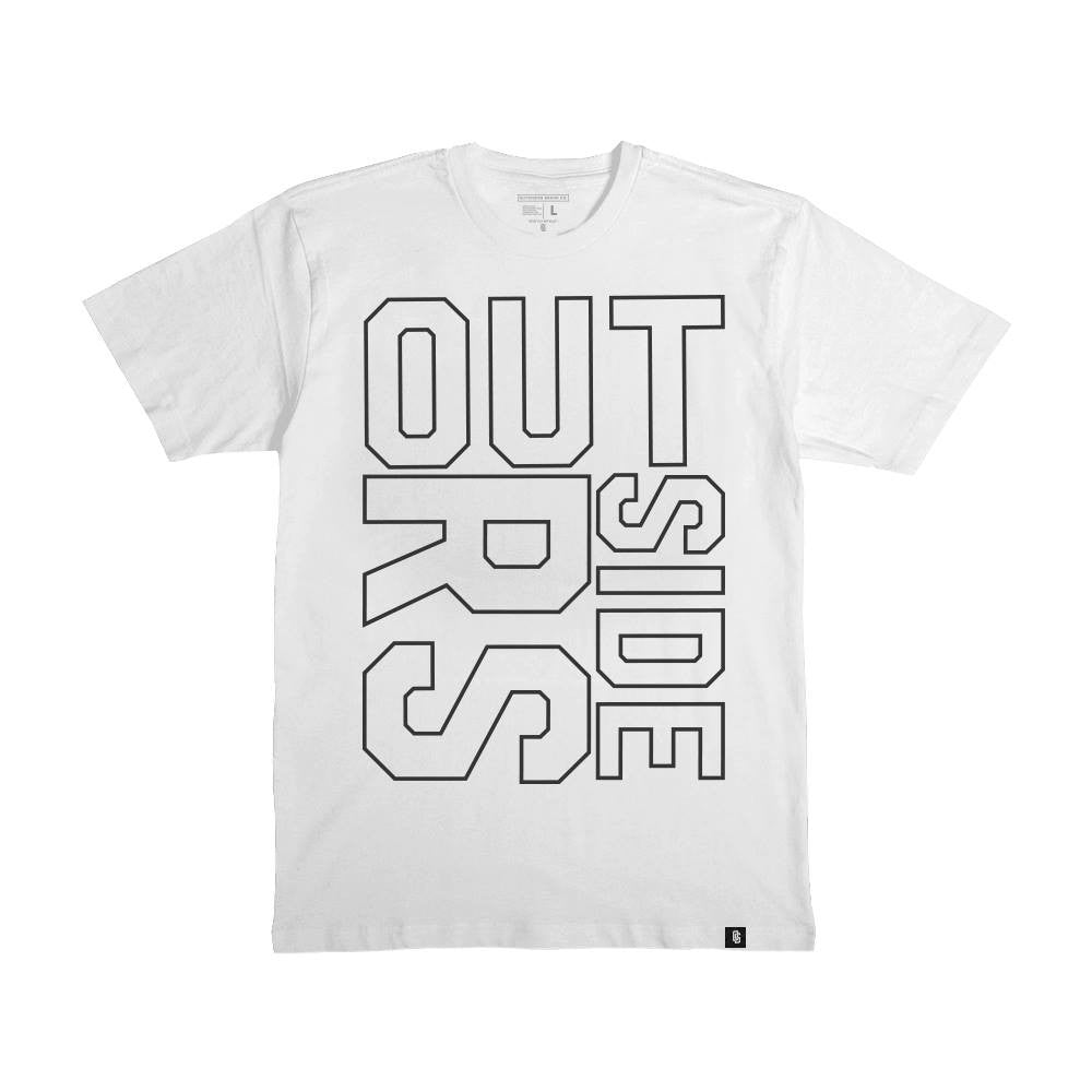 Outsiders REPPIN - WHITE - Men's Knit T-Shirt
