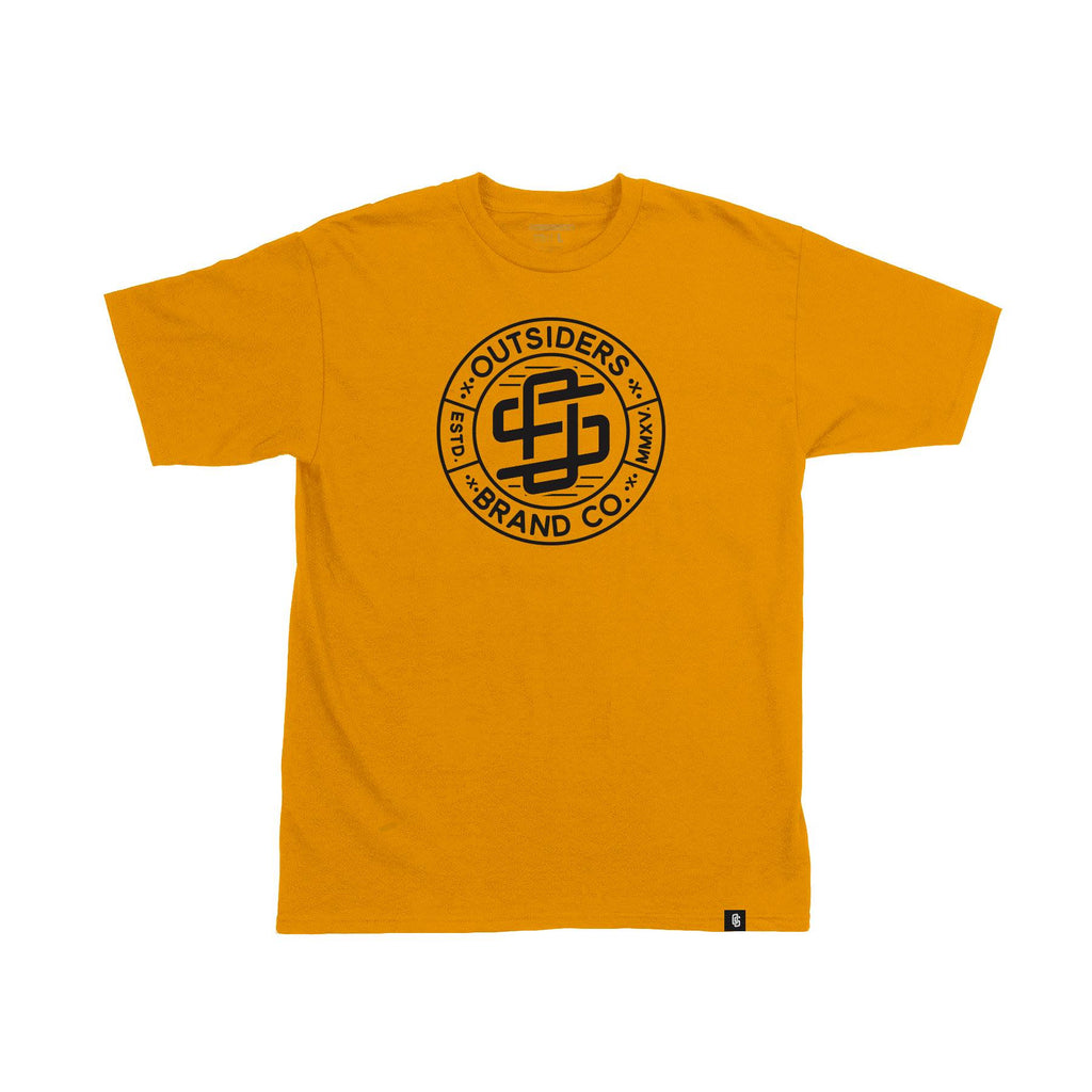 Team Outsiders - Gold - Men's Knit T-Shirt