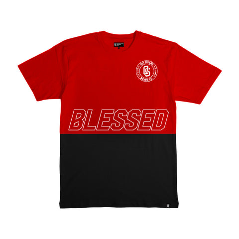 Outsiders Blessed Sacred - Men's Knit T-Shirt