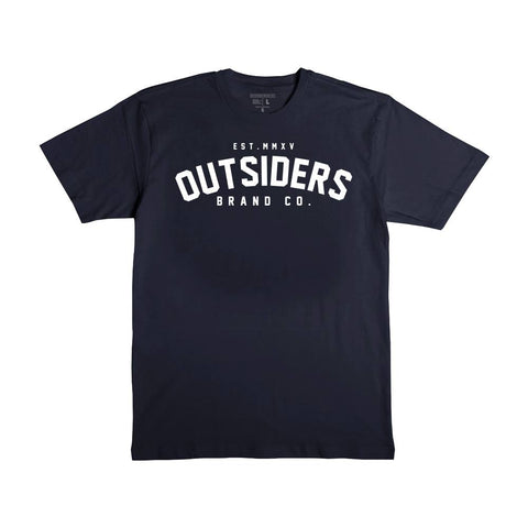Outsiders Varsity - Navy - Men's Knit T-Shirt