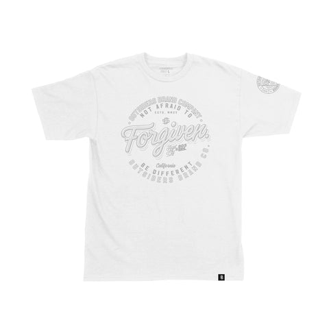 Forgiven 2.0 - White - Men's Knit T-Shirt