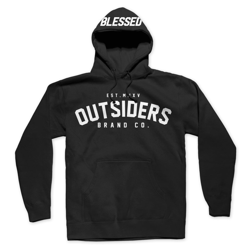 Blessed Varsity - Men's Knit Hooded Pullover